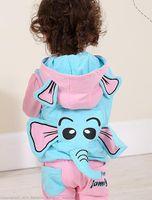 Wholesale 2014 Hitz men and children s wear cotton modal fabric cartoon elephant