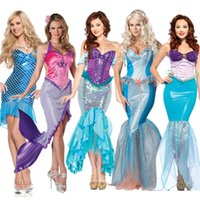 bar girl stories - Sexy Mermaid Theme Costume Hallowee Day Female Adult Clothing Bar Stage Cosplay Conch Girl Story