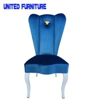Wholesale New arrival fashionv Nordic style Comfortable dining chair and upholstered dining room chair factory send from China