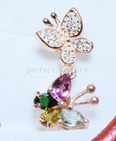 Wholesale Tourmaline necklace pendant Natural real tourmaline pendant sterling silver Perfect jewerly Gemstone pendant DH