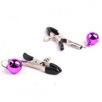 Wholesale 10 pair Alternative sex toys bell nipple clamps shaking stimulate milk clip overcast female breast clip massage