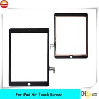 Wholesale New Black Outer Glass Touch Screen Digitizer For iPad Air th Generation Gen OEM and Retail
