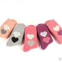 100 % wool socks - 2015 Special Offer Real Women Cotton Casual Sock Sexy Stockings Socks Women Ms Thick Warm Winter Socks Wool Terry Big Love Rabbit