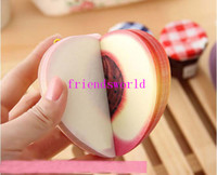 Wholesale Cute Novelty Vegetable Memo Pad Sticky notes Note Fruit Post Notes Paper Notepad Removeable Message Notebook Dairy Books