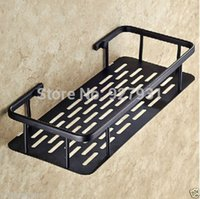bamboo shower shelf - And Retail Square Bathroom Storage Holder Oil Rubbed Bronze Finished Bath and Shower Commodity Shelf