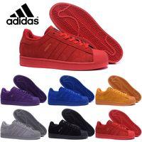 adidas originals - adidas Originals Superstar S City Warm season Man s Women s shoes sneakers man shoes women shoes Classic couples skate shoes