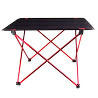 Wholesale Portable Foldable Folding Table Desk Furniture Outdoor Picnic Aluminium Alloy