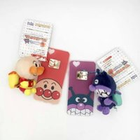 backpack iphone case - 50pcs Lovely Cartoon backpack toy Bread Red Beans Superman TPU case Newest Bread Anpanman for iphone s plus Case