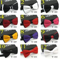 Wholesale 10pcs High Quality Colorful Unisex Silk Bow Tie Adjustable Wedding Party Neckwear Printing Bowties