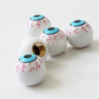 Wholesale 2014 High Quality Car EYE BALL Tire Valve Stem Covers Set Wear resistant Elaborate ABS Motorcycle Car Auto Valve Cap Cover