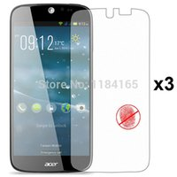 acer packages - Front Transparent LCD Screen Guard Protectors for Acer Liquid Jade S55 Jade Plus Film with Retail Package