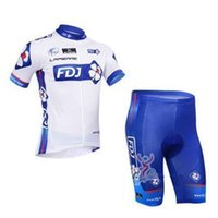 Wholesale 2015 FDJ Team Cycling Jersey Cycling Wear Cycling Clothing short bib suite FDJ B