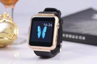 Wholesale 2015 Smart Watch K8 Android system with M pixels Webcam Wifi FM for Android Smart phones Support SIM Card smartwatch phone