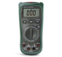 Wholesale MASTECH MS8260E Digital Multimeter DMM LCR Meter Inductance Capacitance Tester w hFE Test LCD Backlight Meter Multimetro