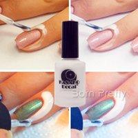 Wholesale White Peel Off Liquid nail art Tape Latex Tape finger skin protected liquid Palisade Easy clean Base Coat care nail polish