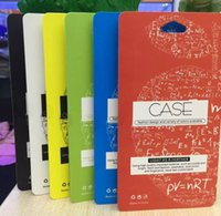 Wholesale Universal Retail Packaging Package PVC Plastic Paper Box For Iphone S S Plus S4 S6 edge Note5 Note2 Note4 Hard Soft Case Fashion