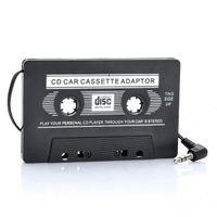 Wholesale FM Transmitter Car Cassette Tape Adapter for MP3 CD DVD Player Black