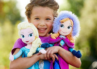Wholesale Frozen Plush Dolls Sets Toys Princess Elsa And Anna Dolls cm Baby Kids Stuffed Plush Toys For Children Christmas Gifts