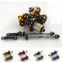 bicycle wheel bearings - MTB mountain bike bicycle wheel bearings bicycle hub string H aluminum quick release lever