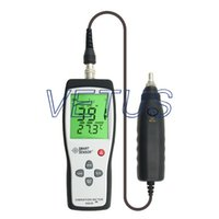 accelerometer types - Digital Vibration Meter Portable vibration analyzer AS63B AS B with Piezoelectric Ceramic Accelerometer of shear type A