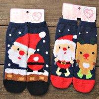 fleece socks - 10pair women socks winter keep warm thicken coral fleece christmas new year sport socks freeshipping