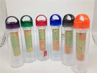 Wholesale 700ML Fruit Infusing Infuser Water Bottle Health Bicycle Sport Lemon Juice Make
