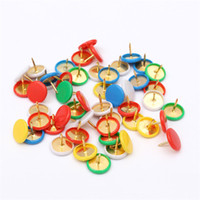 assorted corks - 50pcs Drawing Metal Push Pins Assorted Paper Map Cork Board Capped Headed Fixing Thumb Tacks Pin Office School Supplies