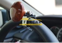 Wholesale Carbon Car Steering Wheel Spinner Knob Auxiliary Booster Ball Assist Device Hand Control Knob Booster car accessories