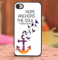 beautiful birds - Beautiful Bird Fly Anchor Design Hard Plastic Mobile Phone Case Cover For iPhone S S plus