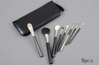 Wholesale Brush Set Practical Brush Piece Brush Set With Pouch