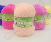 Wholesale 500PCS HHA751 New Arrivals colors Clothing Fabric Super Soft Double Knitting Wool Blend Yarn Acrylic g Ball
