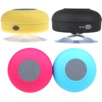 Wholesale Mini HIFI Wireless Bluetooth Handsfree Mic Suction Speaker Shower Car Water Resistant for iPhone iPad