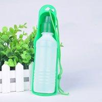 Wholesale 250ml pet dog Folding Bottle outdoor portable drinking bottle bowl pet travel drinker Pet Supply X60 CW0028W M2