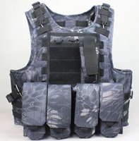 airsoft products - Tactical vest outdoor products Camouflage amphibious Counterterrorism Military Protective Training combat Hunting Airsoft MOLLE system vest