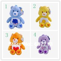 Wholesale 1piece care bears cm inch Japanese care bears Soft Plush doll toy Stuffed Animal the entense doll birthday gift retail