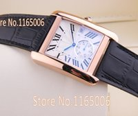 Wholesale Top Classic Luxury Dress Quartz Watch Men Brand Design Clock Famous Casual Gold Dial Leather Strap Hour Two Needles and A Half