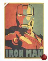 avatar decals - Iron Man Comic Avatar Wall Poster Decorative DIY Home Decor Painting Core Kraft Paper Kraft Posters cm