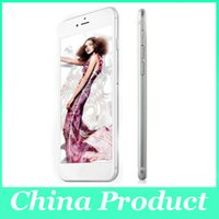 Wholesale 1 Goophone i6s Plus inch Dual Core Android I6s plus Mobile phones Dual camera Show G GB Show fake G Lte G GPS Smart Phone