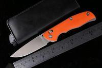Wholesale Shirogorov tabargan folding knife D2 blade G10 handle axis outdoors Survival camp hunt Tactical pocket knife knives EDC tools