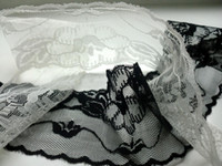 Wholesale White Black Lace Cheap Table Runners For Wedding Cloth Runners Decoration Party Supplier Top Quality