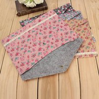 Wholesale Korean Polka Dot Floral A4 Document Pouch Bag Office School Important Filing Paper Case Products