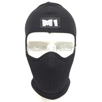 Wholesale New Thailand M1 Dustproof Motorcycle Face mask warm windproof breathable Touring Winter Balaclava Heater Hood Facemask