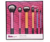 hair brush set - 2015 High Quality real RT technicial Make up Brushes set soft hair Professional Makeup powder brush set DHL