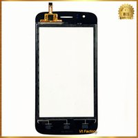 atoms digitizer - obile Phone Accessories Parts Mobile Phone Touch Panel Black quot Front Glass Sensor Panel For Explay Atom Touch Screen Digitizer for