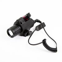 Wholesale Free S H VO Compact LED Flashlight Red Green Laser Combo Sight M6 Lumens Weapon Lights Light Laser