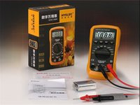 Wholesale MS8233D Counts Professional Digital Electrical Handheld Tester LCD Autorange Display Multimeter Multimetro HYELEC H11404