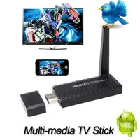 Wholesale HDMI P Portable Miracast DLNA Airplay WiFi Display TV Receiver Dongle Stick for iPhone Mirroring Multi screen Interactive