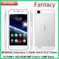 "Cheap Original ZOPO ZP1000 MTK6592 octa core Phone android 4.2 smart phone 5"" capacitive 1280*720 Dual SIM 5MP Front 14MP Back OTG"