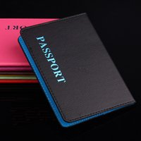Wholesale 5PCS Sets Leather Passport Cover Organizer Travel Credit Card Wallet ID Holder New Brand Popular Sold by EWIN24