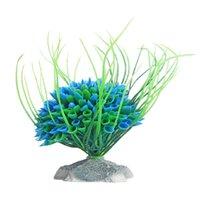 Wholesale Artificial Water Plant Graceful Green Grass Ornament Aquarium Fish Tank Aquarium Water Grass Plants Landscaping Ornament Decor